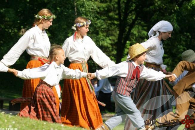 جشن تابستانه در ریگا، لاتویا