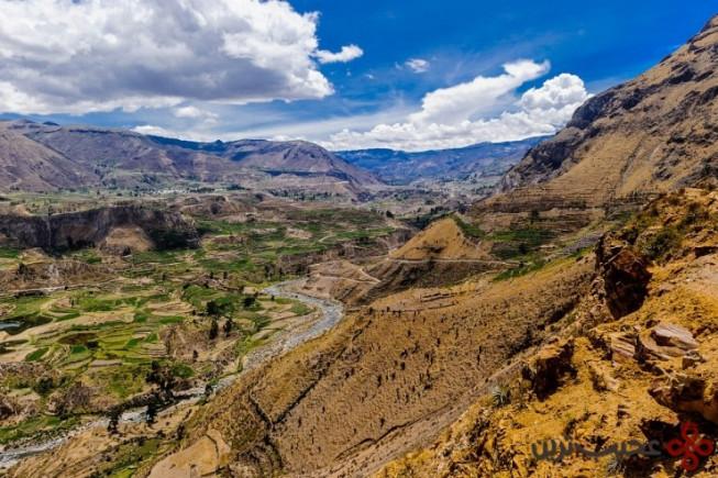 درهی عمیق و باریک کولکا (colca canyon)، پرو