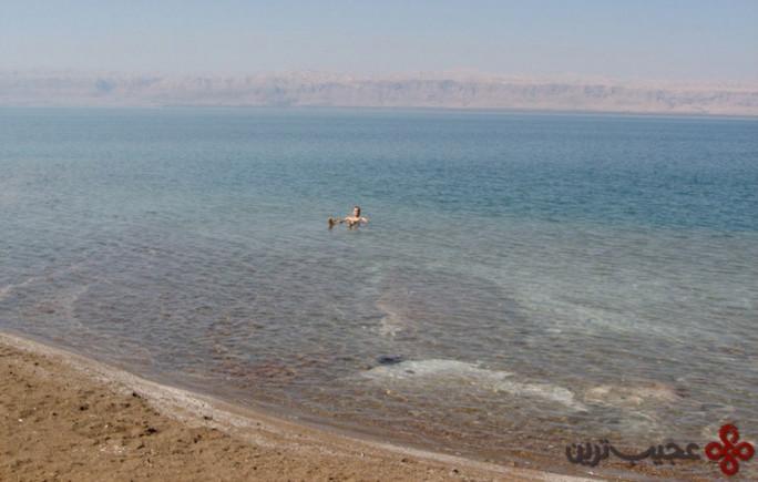 دریای مردگان، اردن