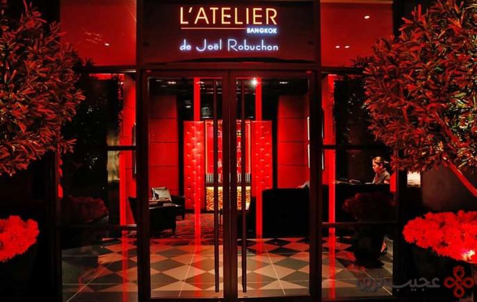 رستوران آتلیه دو ژوئل غوبوشون بانکوک