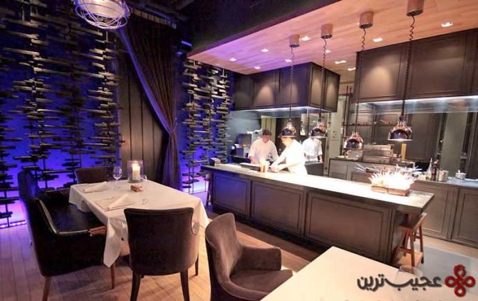 رستوران المنتز در هتل اکورا پرستیژ