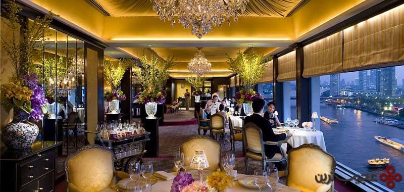 رستوران فرانسوی لونوغماندی در هتل ماندارین شرقی ریورساید