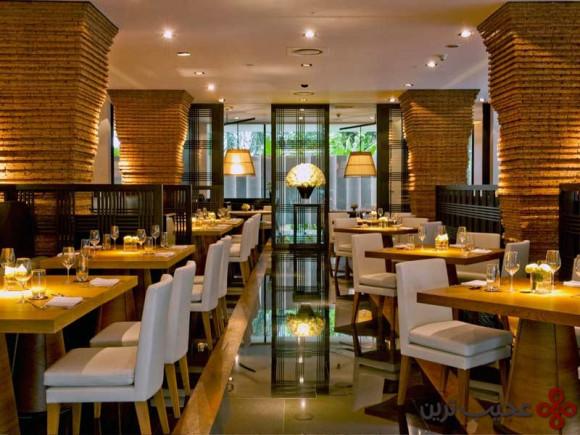 رستوران ناهم در هتل مدتروپوایتان