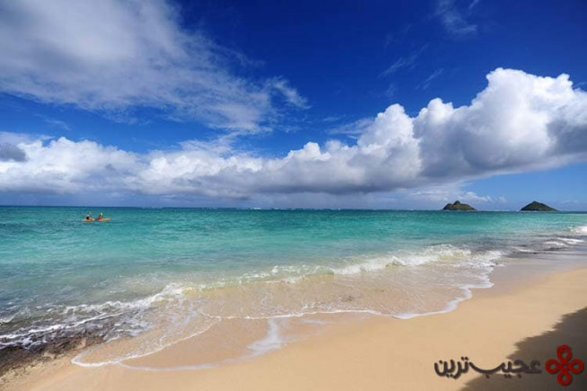 ساحل لانیکای (lanikai)، هاوایی