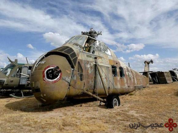 قبرستان هواپیما، دیویس مانتن، آریزونا (the airplane boneyard, davis monthan afb, arizona)