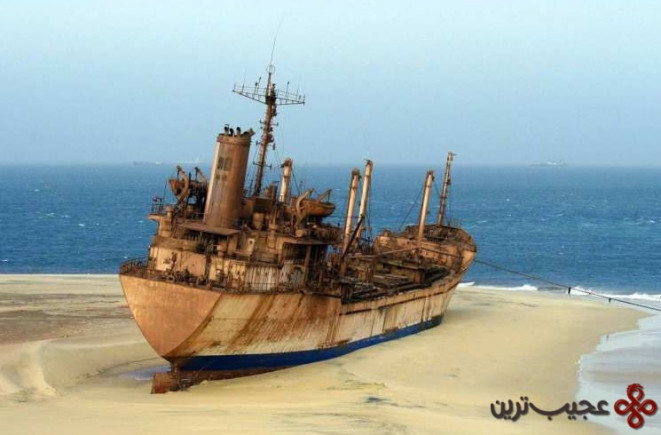 قبرستان کشتی، نوادیبو، موریتانی (the ship graveyard, nouadhibou, mauritania)