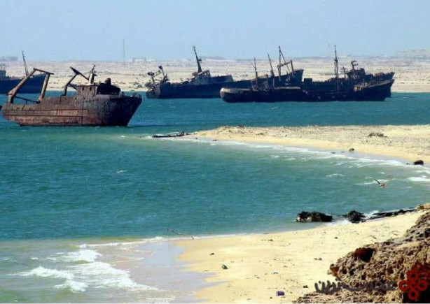 قبرستان کشتی، نوادیبو، موریتانی (the ship graveyard, nouadhibou, mauritania)1