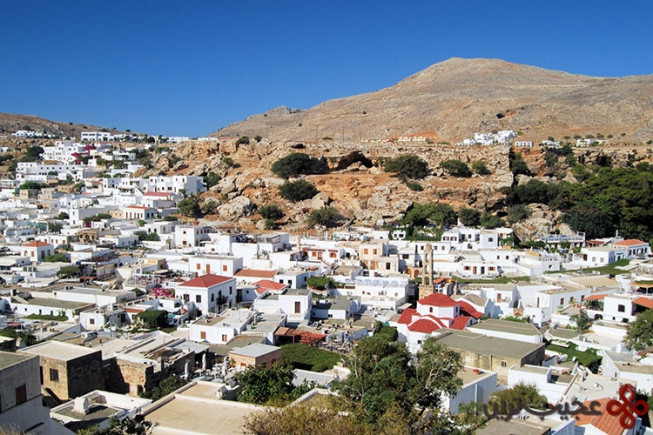 لیندوس، رودس، یونان