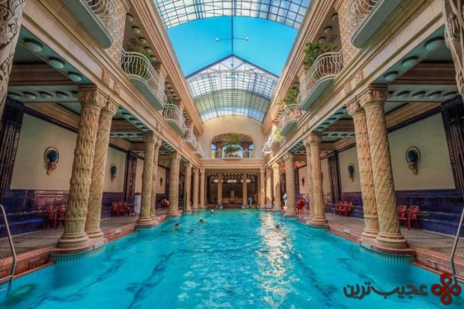 مجارستان بوداپست، حمام حرارتی گلرت