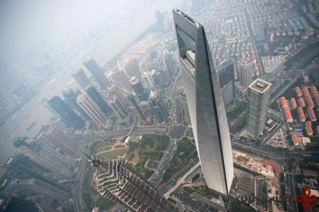 مرکز مالی جهانی شانگهای (shanghai world financial center)