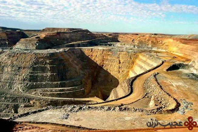 معدن طلای مپوننگ (mponeng gold mine)