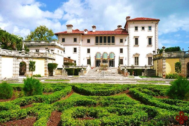 موزه و باغهای ویزکایای میامی، فلوریدا