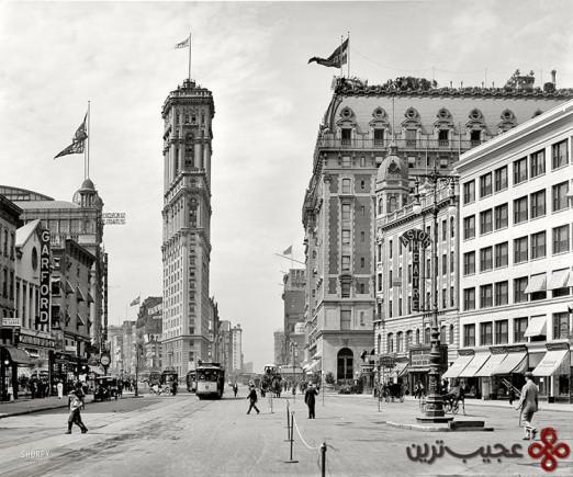 میدان تایمز 1920