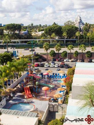 هتل هوارد جانسون آناهایم و پارک آبی، آناهایم