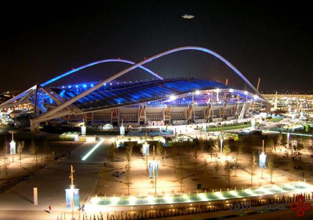 ورزشگاههای المپیک آتن اکنون