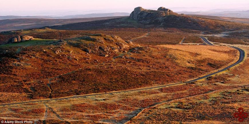 پارک ملی دارتمور (b3387, dartmoor national park)