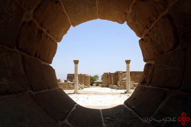 کاخ هشام، شمال اریحا