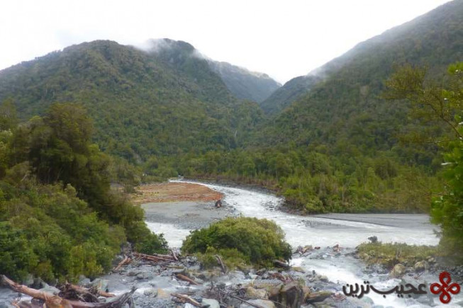 کراپ ریور، نیوزیلند (cropp river)