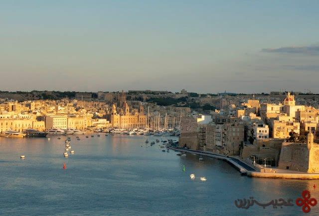 ۱۰ جزیره مالت (malta)