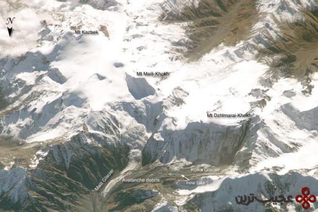 ۱۰ یخچال طبیعی کولکا، اوستیای شمالی، روسیه، سپتامبر ۲۰۰۲ (۱۲۵ کشته)