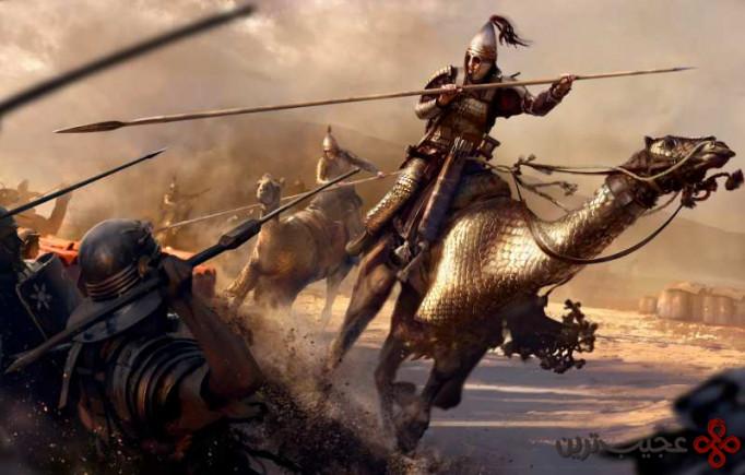 ۲ جنگهای ایران و روم (شروع از ۹۲ سال پیش از میلاد مسیح تا ۶۲۹ پس از میلاد؛ ۷۲۱ سال جنگ)