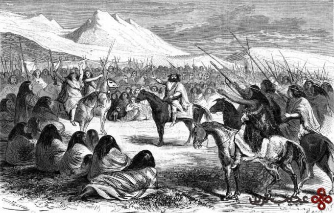 ۴ جنگ اروکانی (شروع از ۱۵۳۶ تا ۱۸۱۸ میلادی؛ ۲۸۲ سال جنگ)