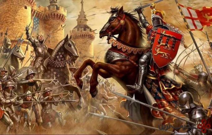 ۷ جنگ صد ساله (شروع از ۱۳۳۷ تا ۱۴۵۳ میلادی؛ ۱۱۶ سال جنگ)