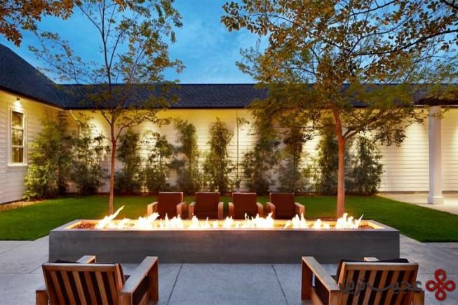 12 هتل solage calistoga ، کالیفرنیا