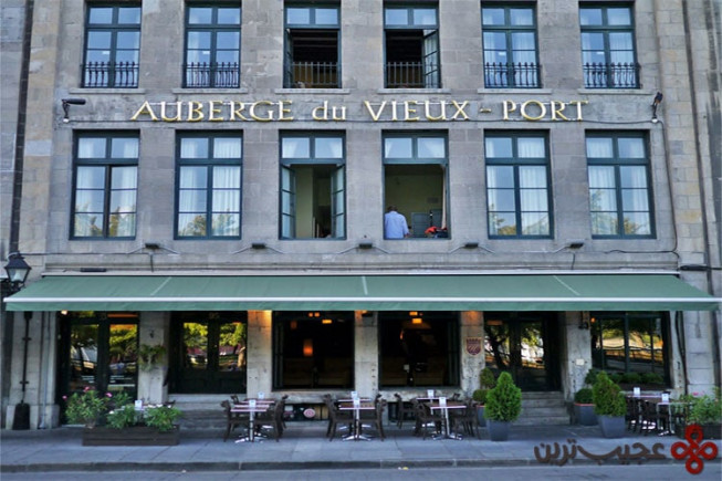 17 هتل auberge du vieux port ، مونترال کانادا