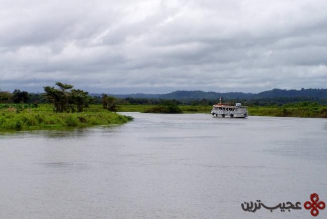 2سفر دریایی رودخانه آمازون