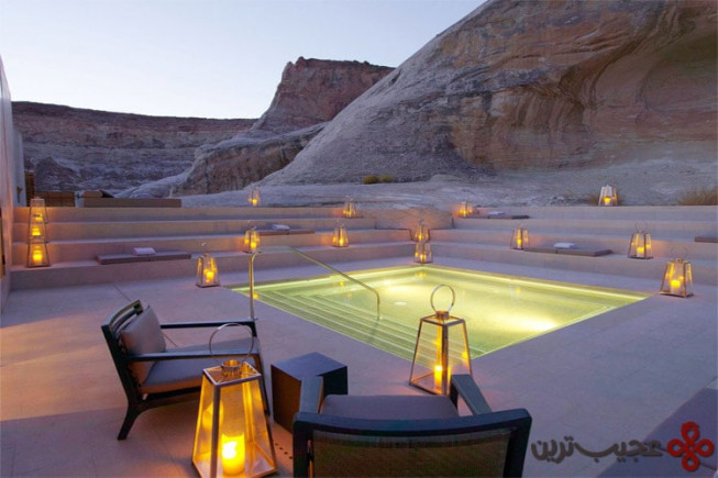 6 هتل آمانگیری (َamangiri ) ، ایالت یوتا آمریکا