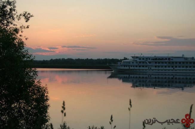 7سفر دریایی رودخانه ولگا