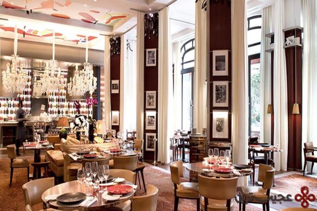 7 هتل le royal monceau raffles، پاریس