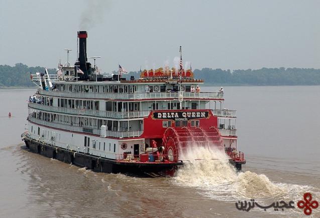 9سفر دریایی رودخانه می سی سی پی
