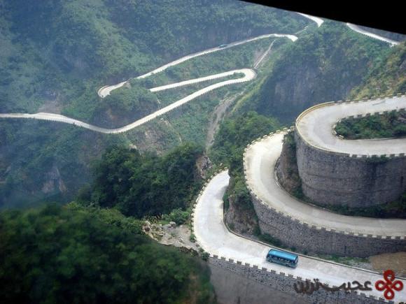 tianmen shan big gate road