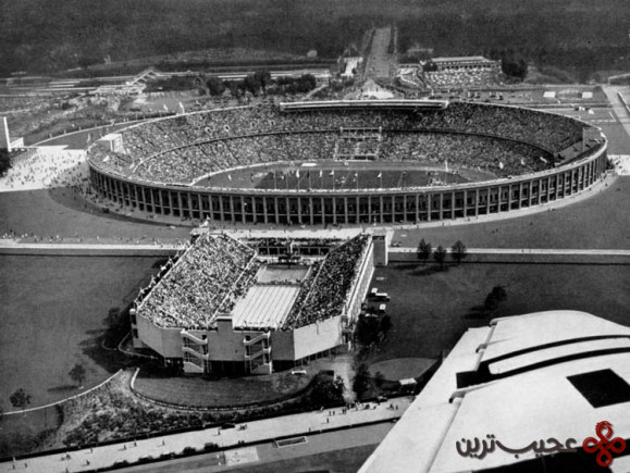 امروزه ورزشگاه المپیک برلین، ساخته نازیها، مورد استفاده قرار میگیرد