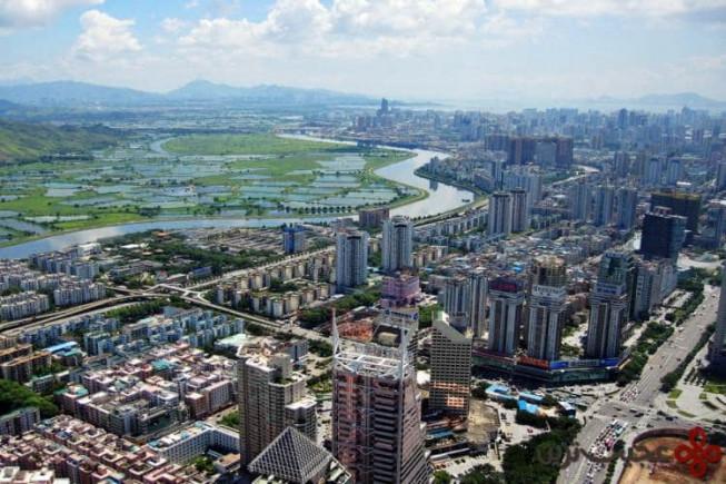 ۱۰ شنژن، چین؛ ۷۴ آسمانخراش
