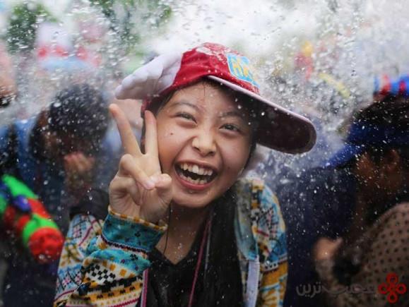 ۱۲ جشنوارهی آب سانگکران، تایلند