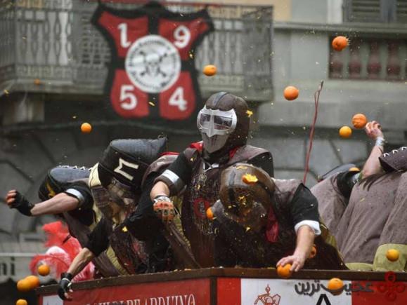 ۱۴ جشنوارهی نبرد پرتقالها، اسپانیا