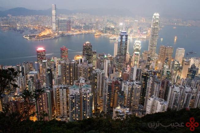 ۱ شهر هنگکنگ، هنگکنگ؛ ۳۱۰ آسمانخراش