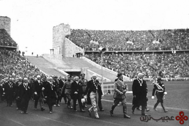 ۱ مسابقات المپیک سال ۱۹۳۶