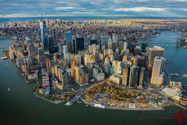 ۲ نیویورک، آمریکا؛ ۲۳۸ آسمانخراش