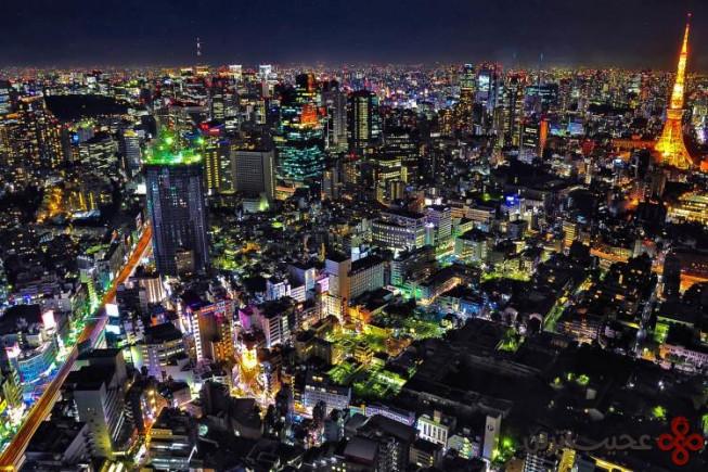 ۶ توکیو، ژاپن؛ ۱۱۶ آسمانخراش