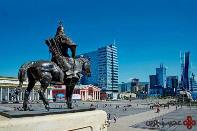 ۷ اولان باتور، مغولستان