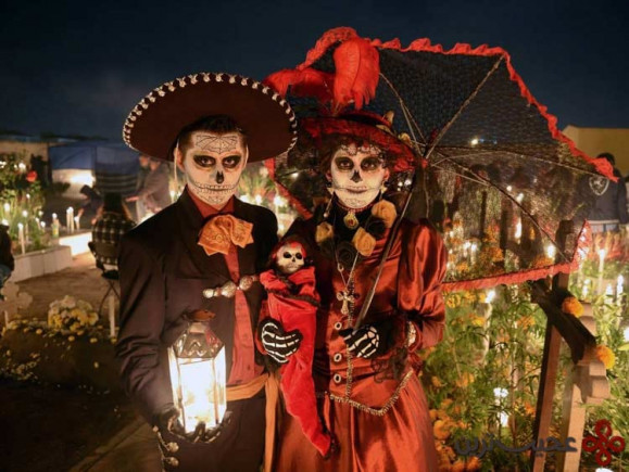 ۸ جشنوارهی روز مردگان، مکزیک