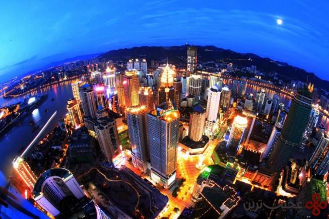 ۸ چونگ کینگ، چین؛ ۸۱ آسمانخراش