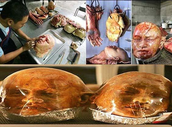 نانهایی بسیار ترسناک شبیه به اجزای بدن انسان!