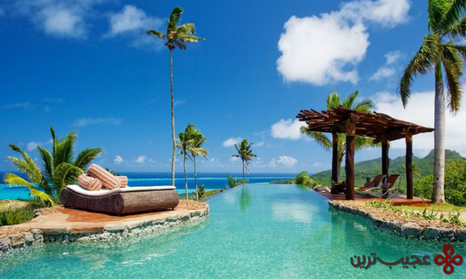 اقامتگاه مالک هیلتاپ استیت در جزیرهٔ تفریحی لائوکالا