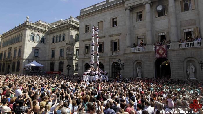 """جشن """"مرسه"""" در اسپانیا"""