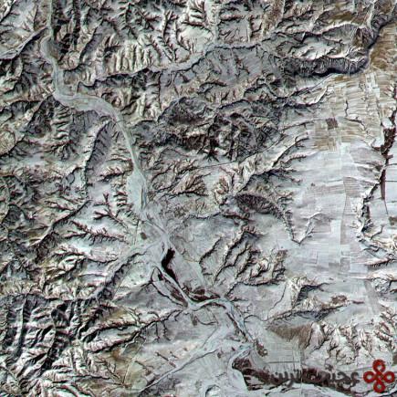 دیوار بزرگ چین از ماه دیده میشود